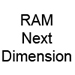 RAM Next Dimension Parti di ricambio